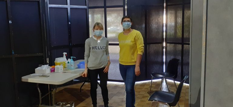 Le Centre de Santé Infirmiers d'Ancenis acteur de la campagne de vaccination du Pays d'Ancenis